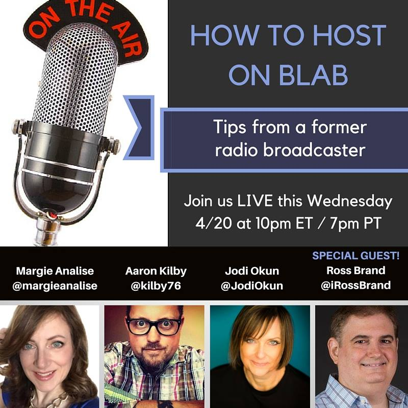 Blab Host Ross Brand