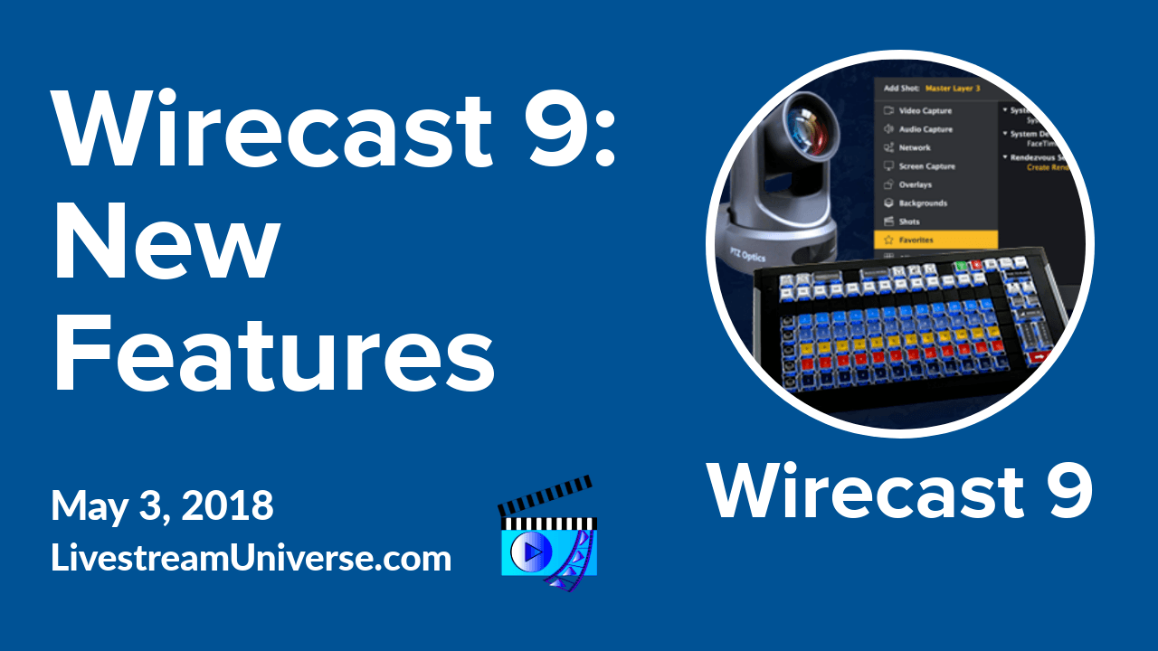 Wirecast 9 Alexa flash briefing