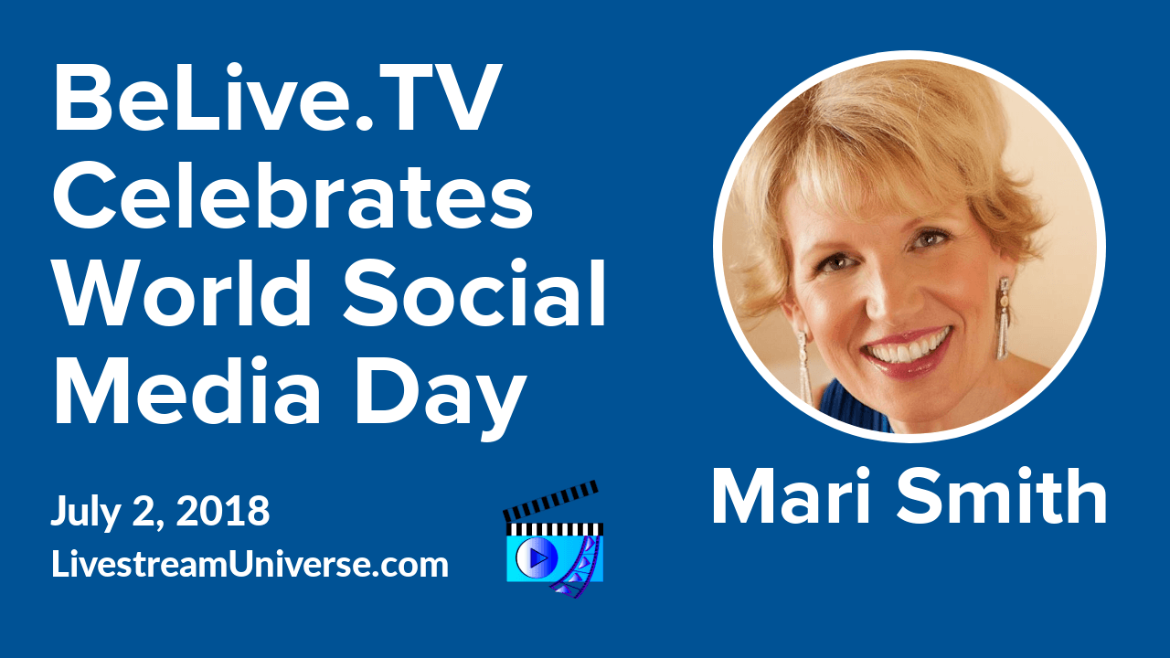 Mari Smith World Social Media Day BeLive TV