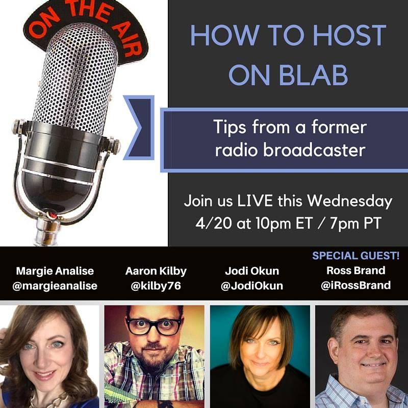Blab Host Ross Brand