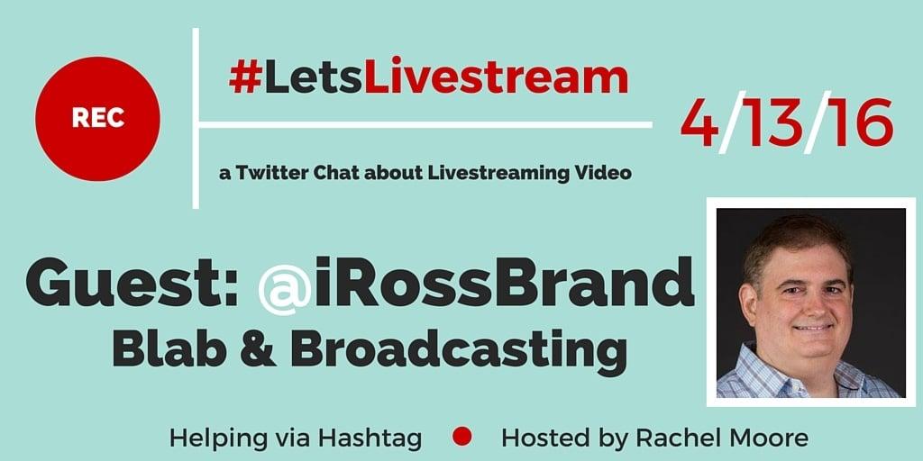 LetsLiveStream Twitter Chat