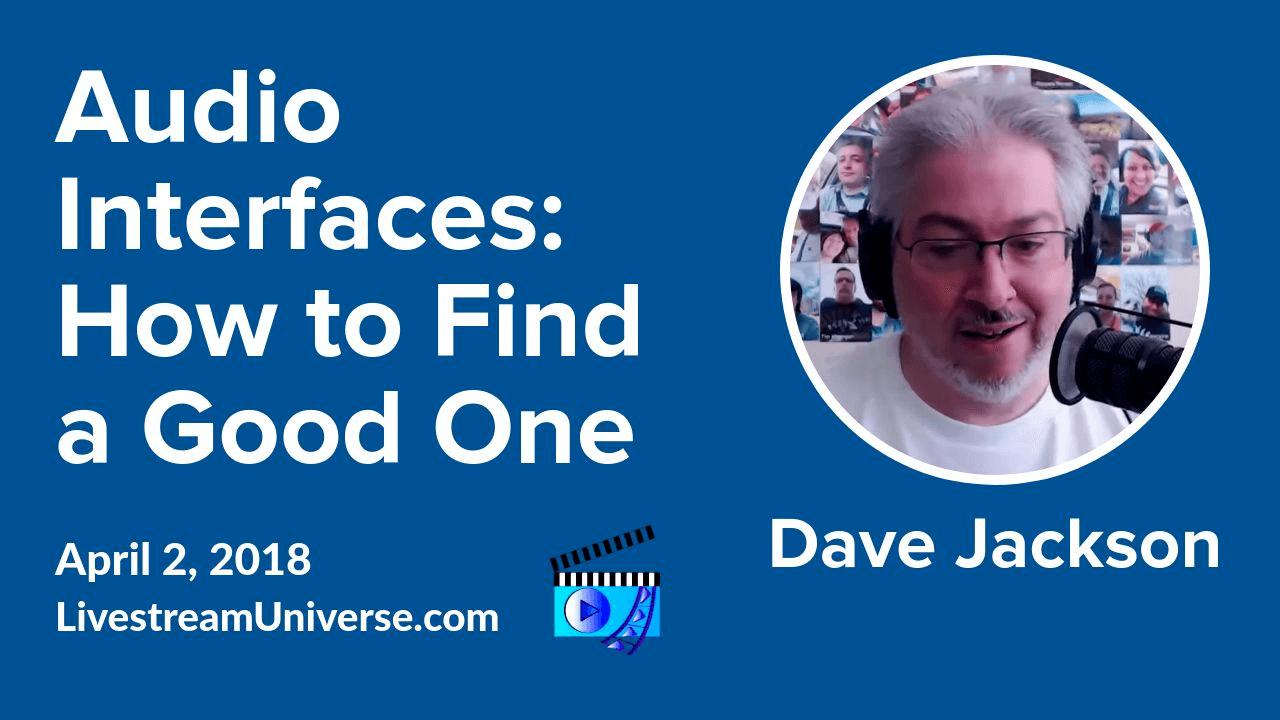 Livestream Universe Update Dave Jackson