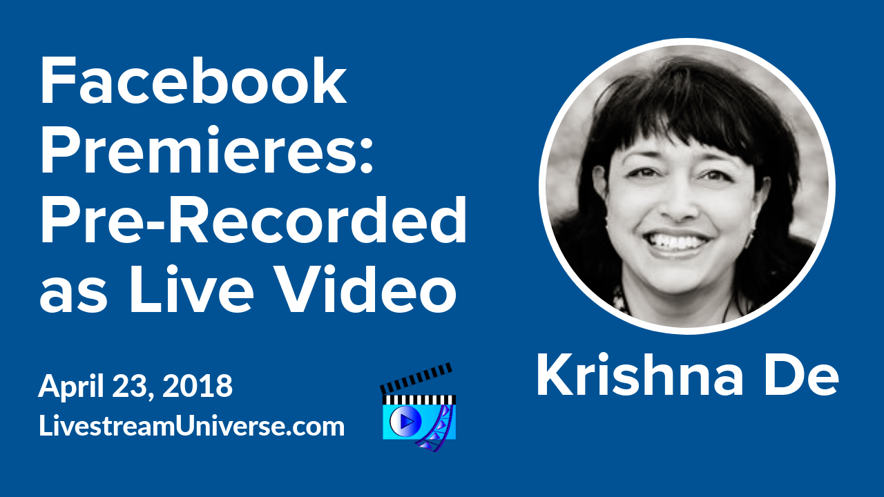 Facebook Premieres Krishna De