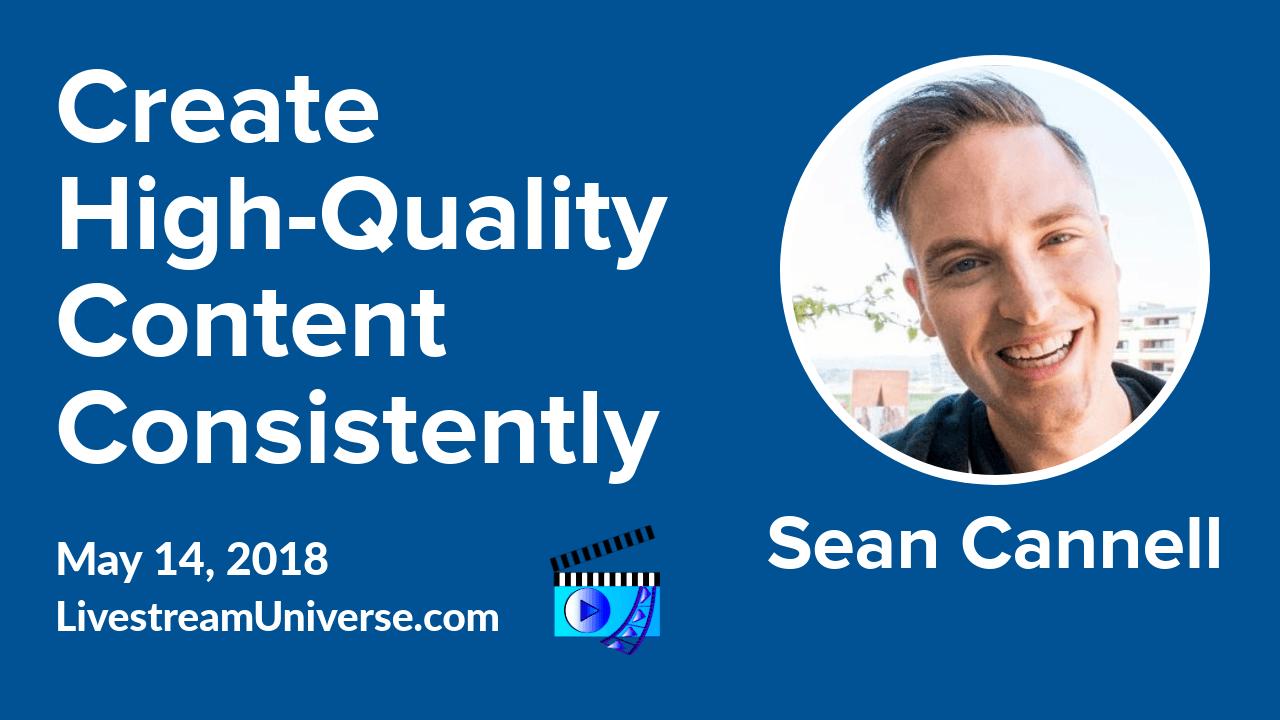 Sean Cannell Livestream Universe Update Flash Briefing Alexa