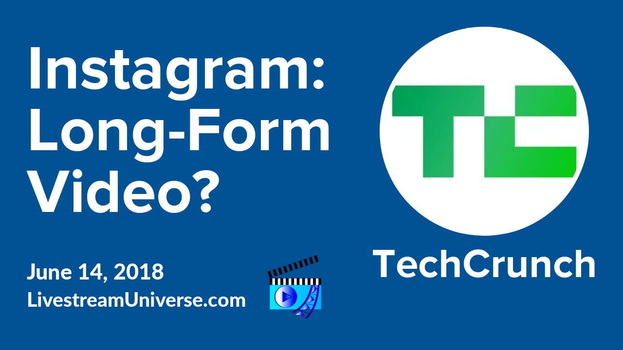 Instagram Video Tech Crunch Wirecast 9