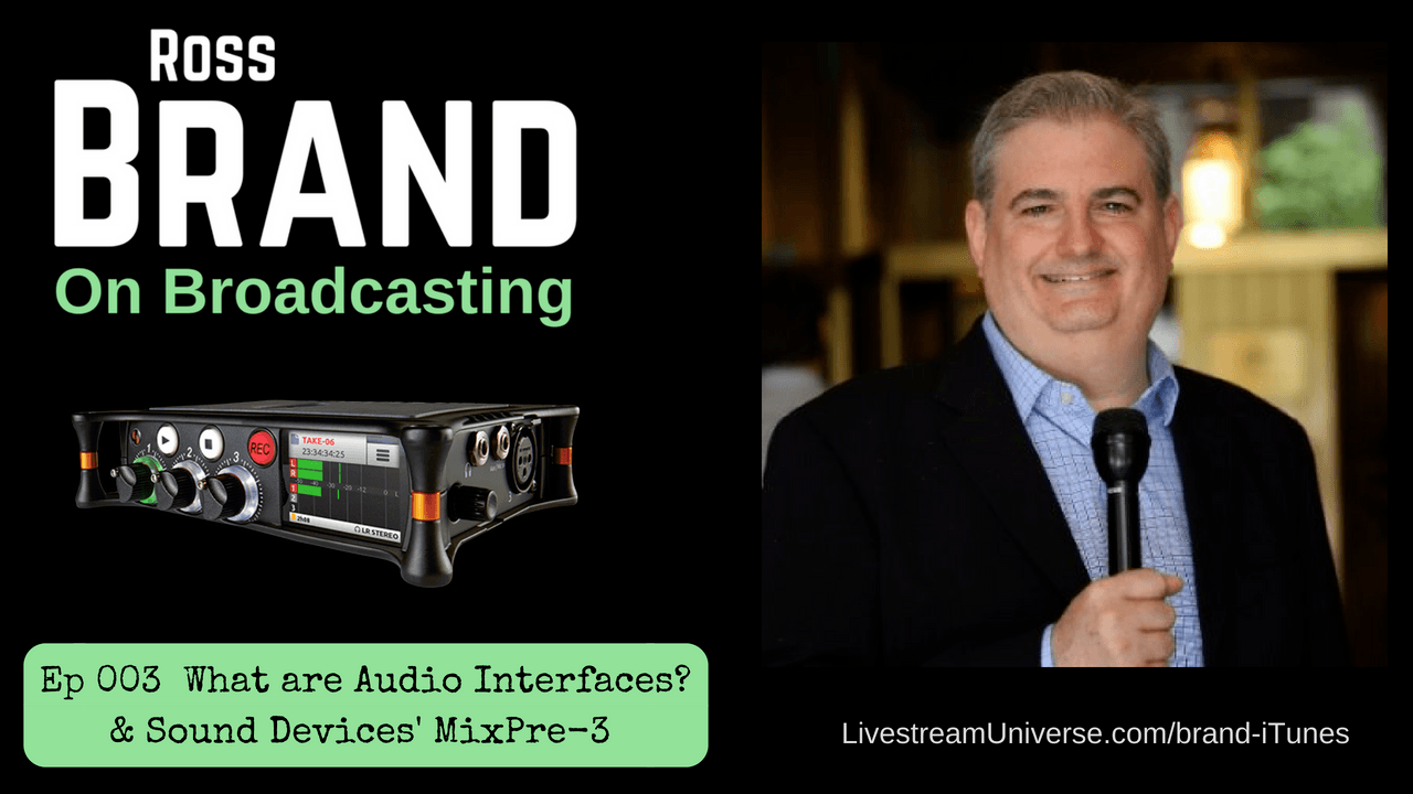Brand On Broadcasting Audio Interfaces Sound Devices