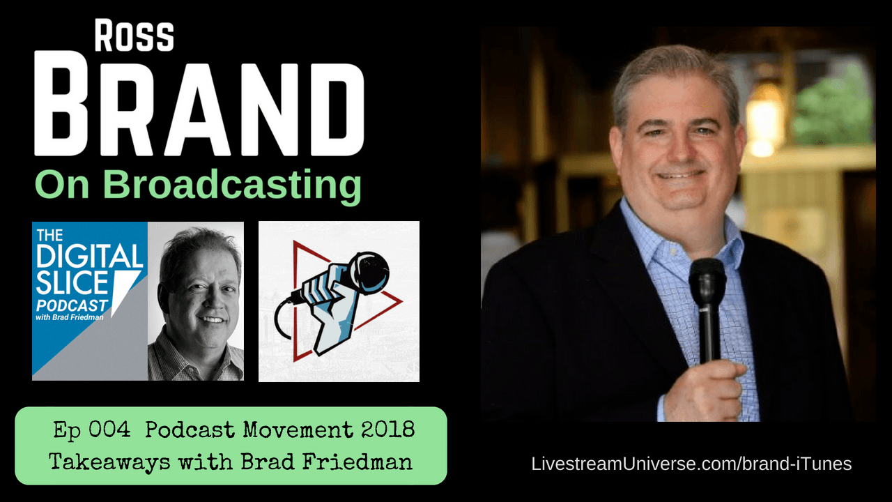 Ep 004 Brad Friedman Podcast Movement