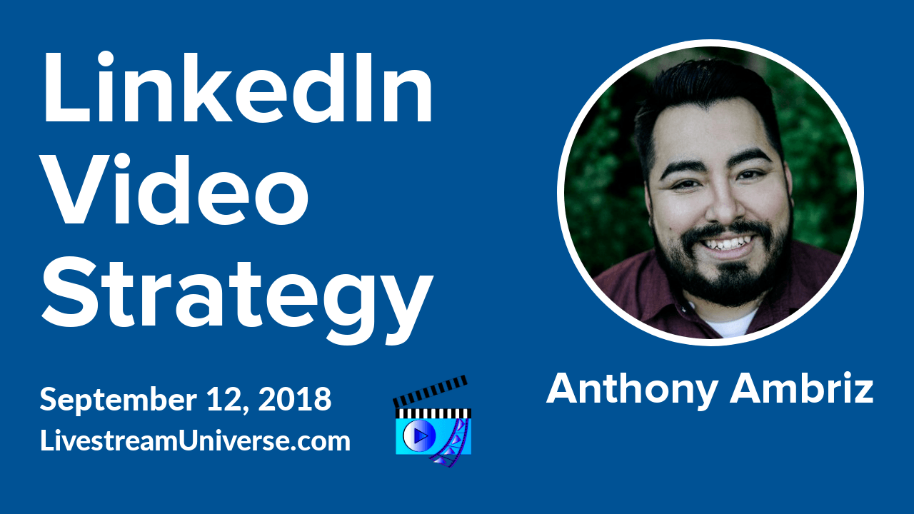 Anthony Ambriz LinkedIn Video