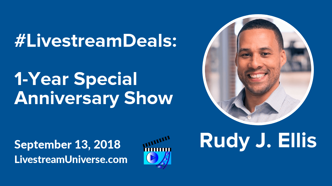 livestream deals rudy j ellis