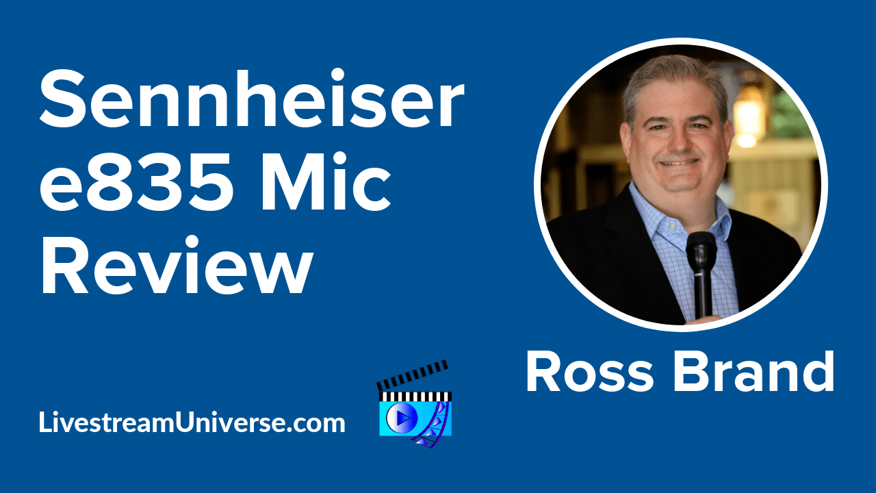 Sennheiser e835 Mic Review