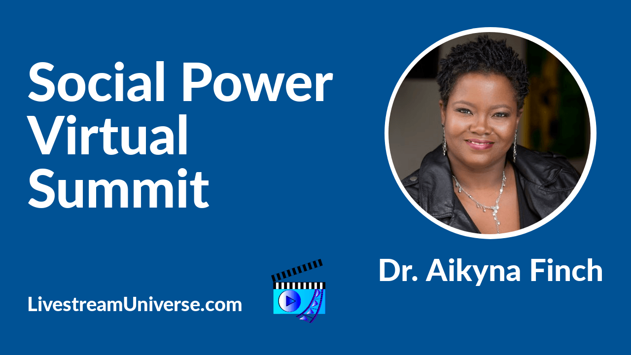 aikyna finch social power summit