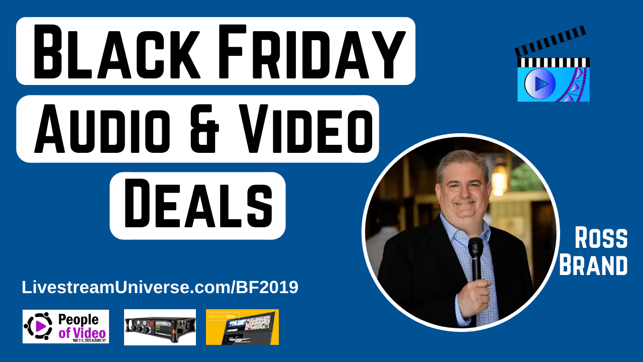 Black Friday 2019 Livestream Universe