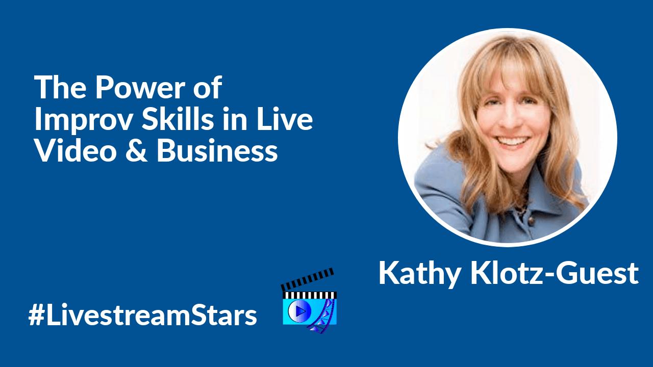 Kathy Klotz Guest Livestream Universe Stars