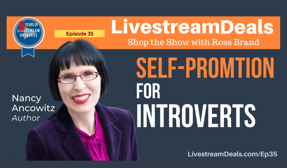 Nancy-Ancowitz-Self-promotion-for-introverts-livestrem-deals