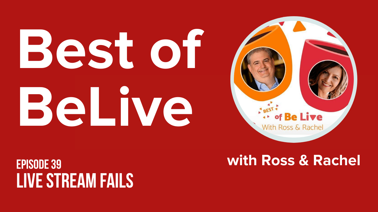 best of belive with ross brand and rachel moore ep39 Livestream Fails
