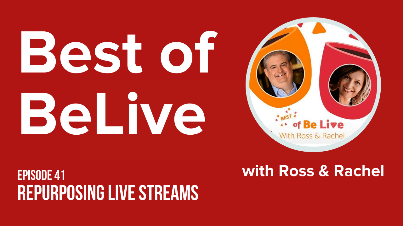 best of belive with ross brand and rachel moore ep41 repurposing
