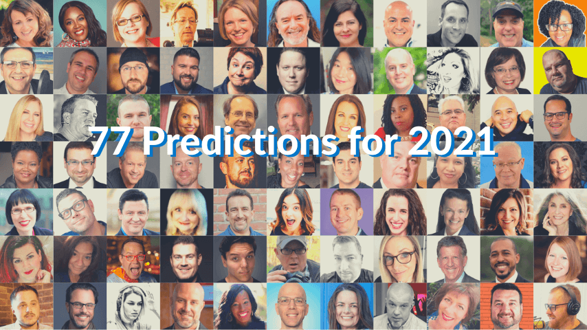 77 Predictions for Live Streaming in 2021 featured